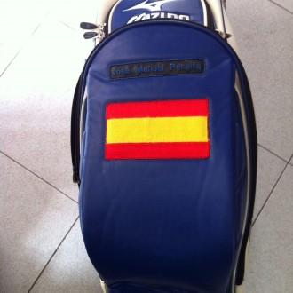 Bordados para bolsas de golf