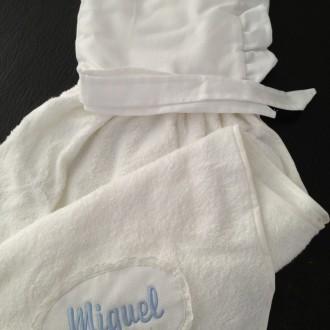 Capa de baño para bebé