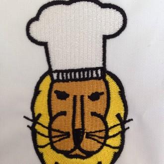 Chaqueta cocina personalizada.