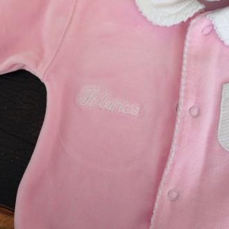 Pijama bebé personalizado con nombre