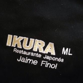 Logo Ikura bordado