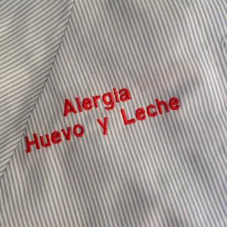 Baby colegio identificativo Alergias