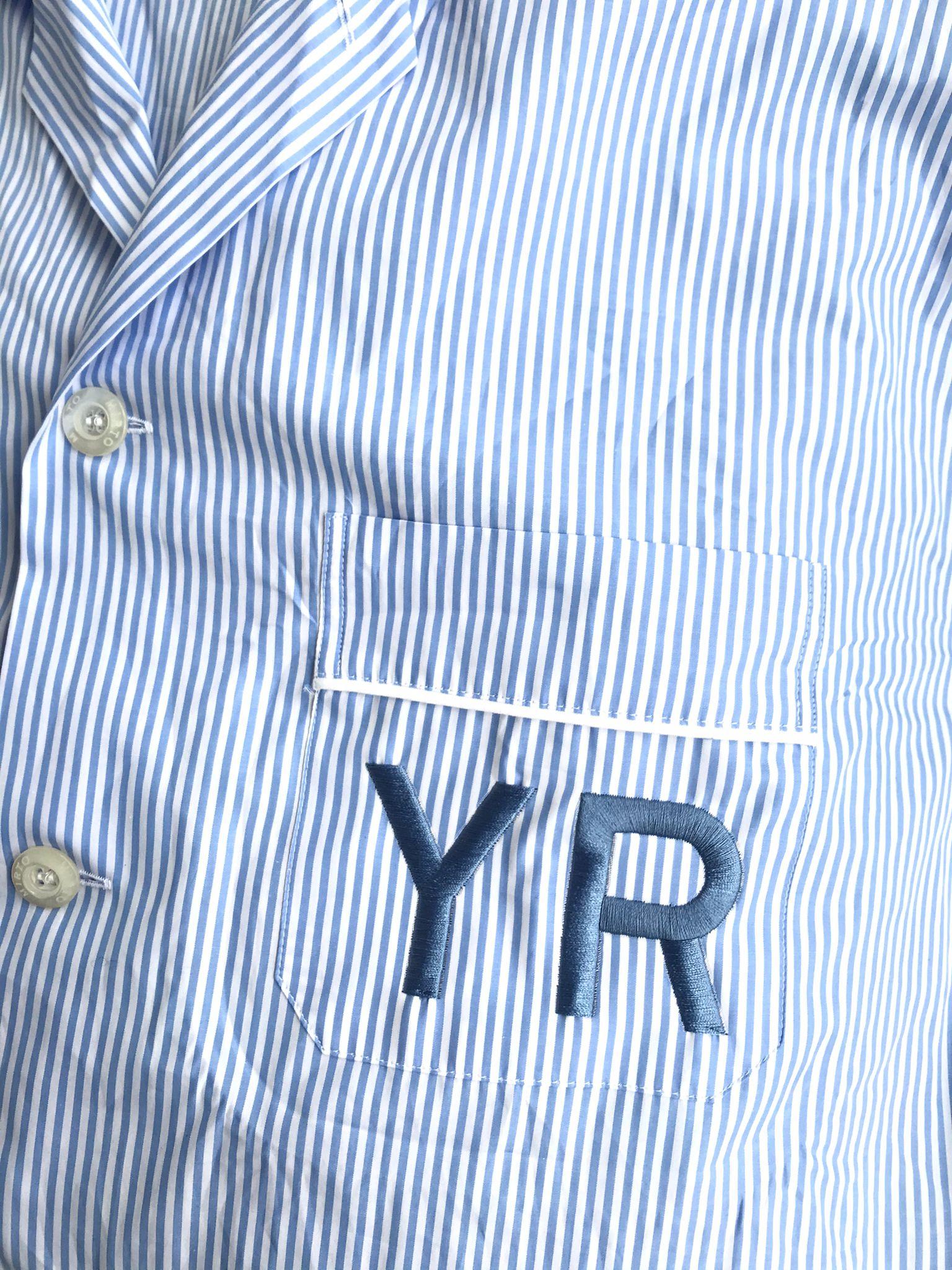 Pijama personalizado con iniciales